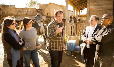 Tarantino detrás de las cámaras