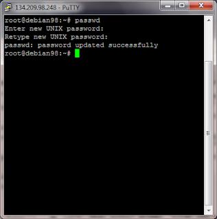 Cara Mengganti Password Root di VPS Linux