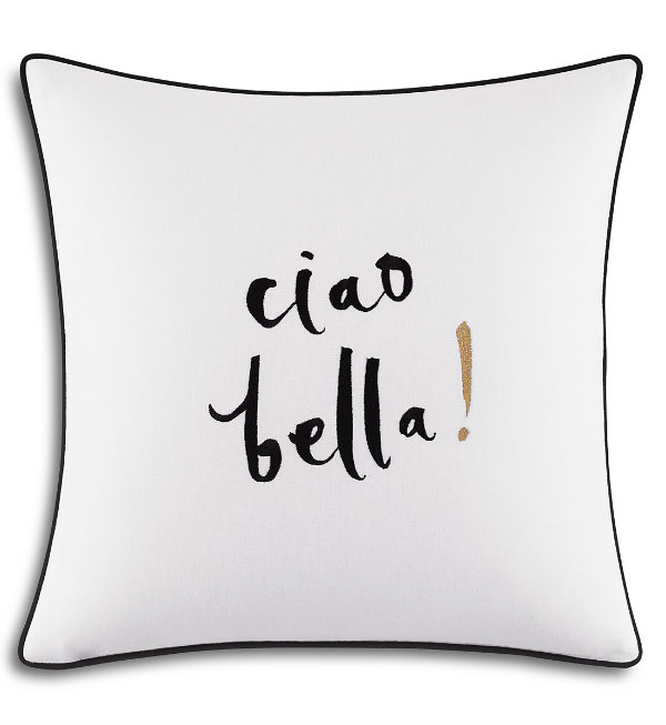 Newport Espadrille Decorative Pillow : ciao! newport beach