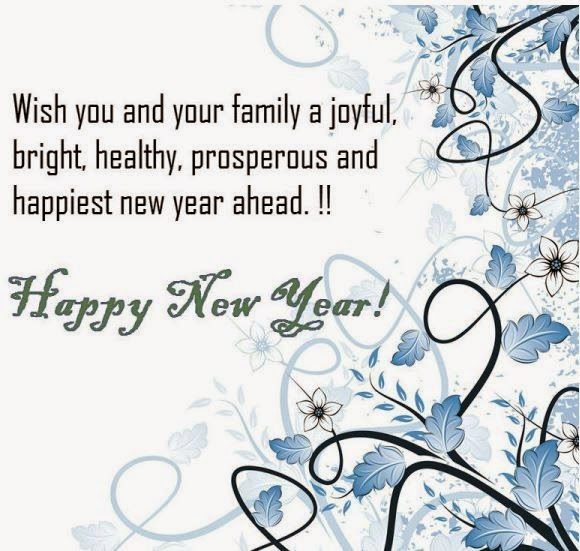 New Year 2016 Wishes for Facebook Status Pics