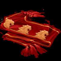 Sciarpa della Bulgaria : Stupisci i tuoi amici con questa sciarpa decorata da leoni che ruggiscono davvero