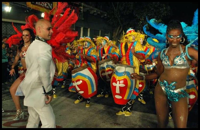 Desfile de Llamadas.La Magia. Montevideo. 2011