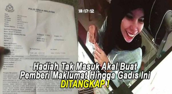 HAMBIK KAU ! Ramai TERKEJUT Dengan Ganjaran Yg Akan Diberi TOKEY Kedai Emas Kepada Pemberi Maklumat Hingga Gadis Ini Ditangkap !