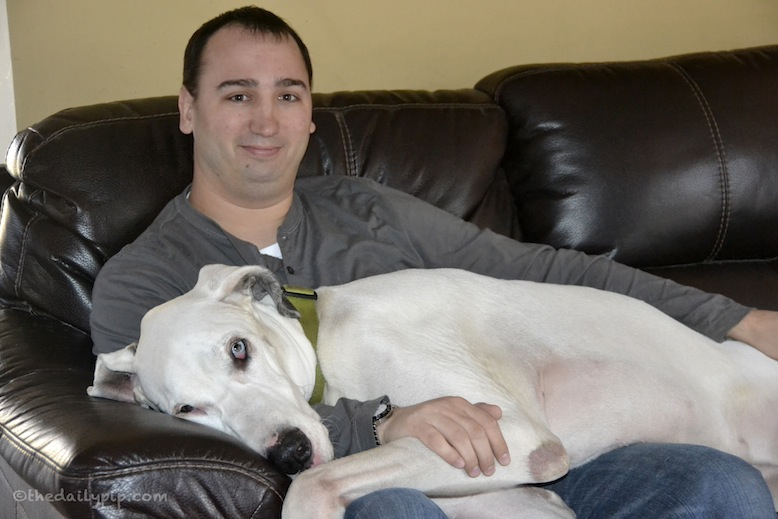 A rescued deaf dog and his adopter share the reasons you should adopt and rescue a deaf dog