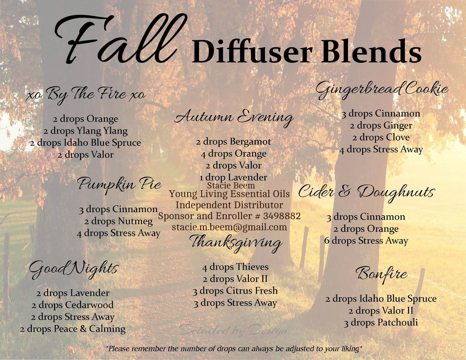 You Know I Love to Share Young Living Essential Oils Blends