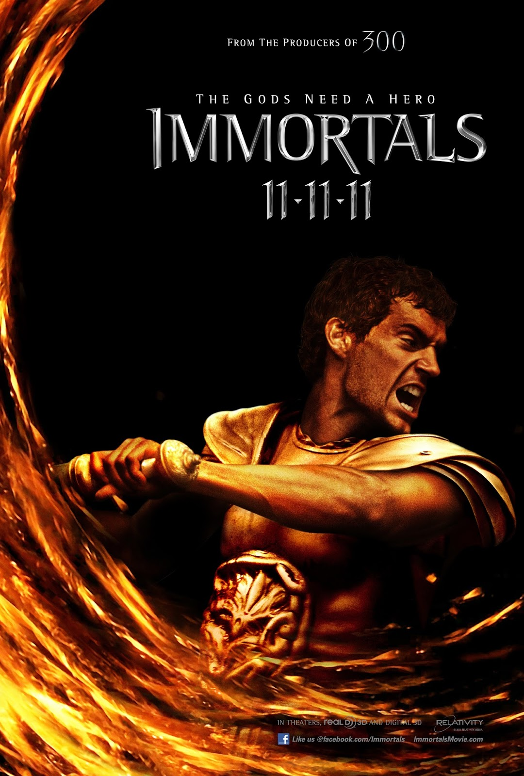 Immortals (2011) tainies online oipeirates