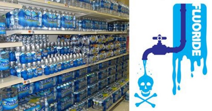 12 Brands of Bottled Water That Are Full of TOXIC Fluoride!