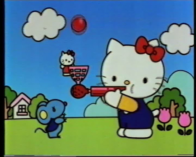 ... do Windball da Hello Kitty (brinde de chupas)