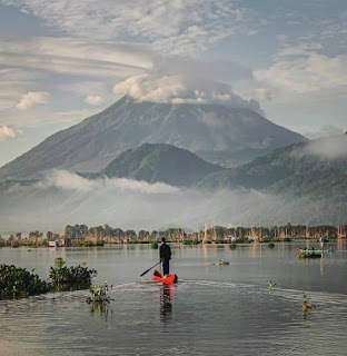 Wisata Danau Rawa Pening Semarang, Jawa Tengah