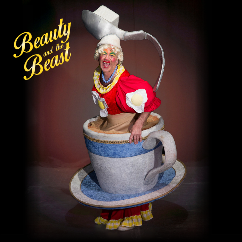 Beauty and the Beast at Tyne Theatre and Opera House Newcastle | A Review - panto dame