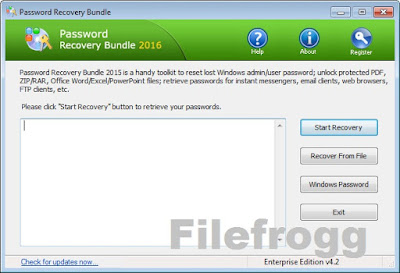 Password Recovery Bundle 2016 v4.2 Enterprise Full Keygen