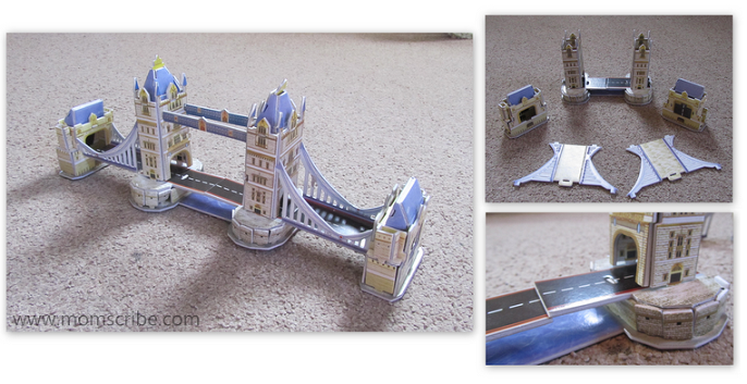 london tower bridge puzzle