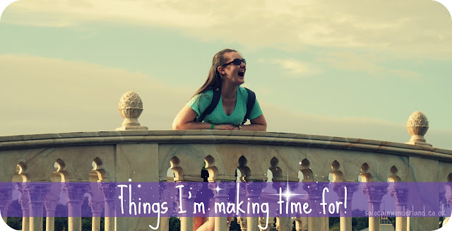 things you should make time for
