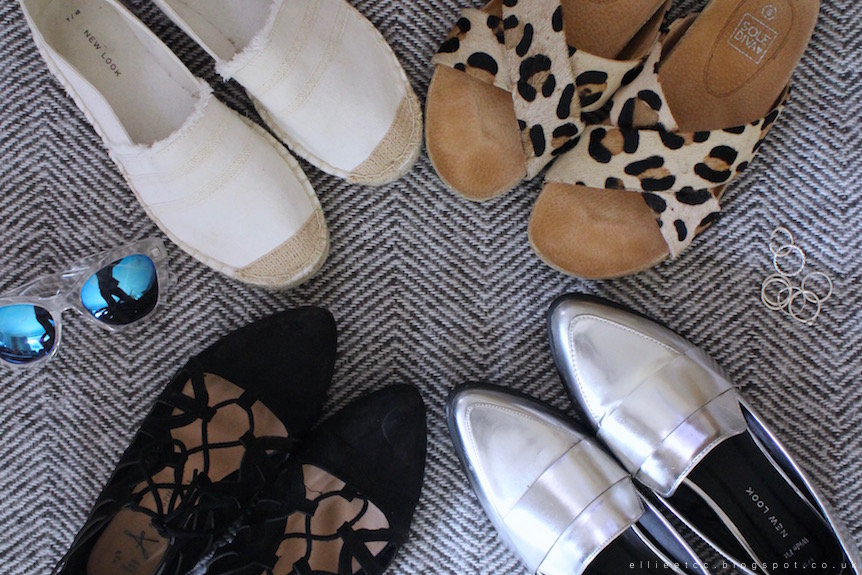 lace up, shoes, summer, style, New Look, Primark, JD Williams, Sole Diva, sliders, espadrilles, silver footwear, silver, loafers, sandals, fashion, footwear