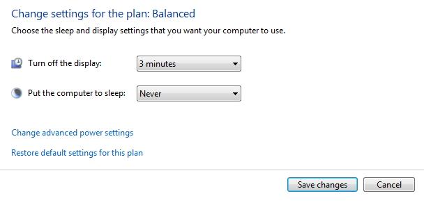 Cara Agar Windows 7 Tidak Sleep Saat Didiamkan