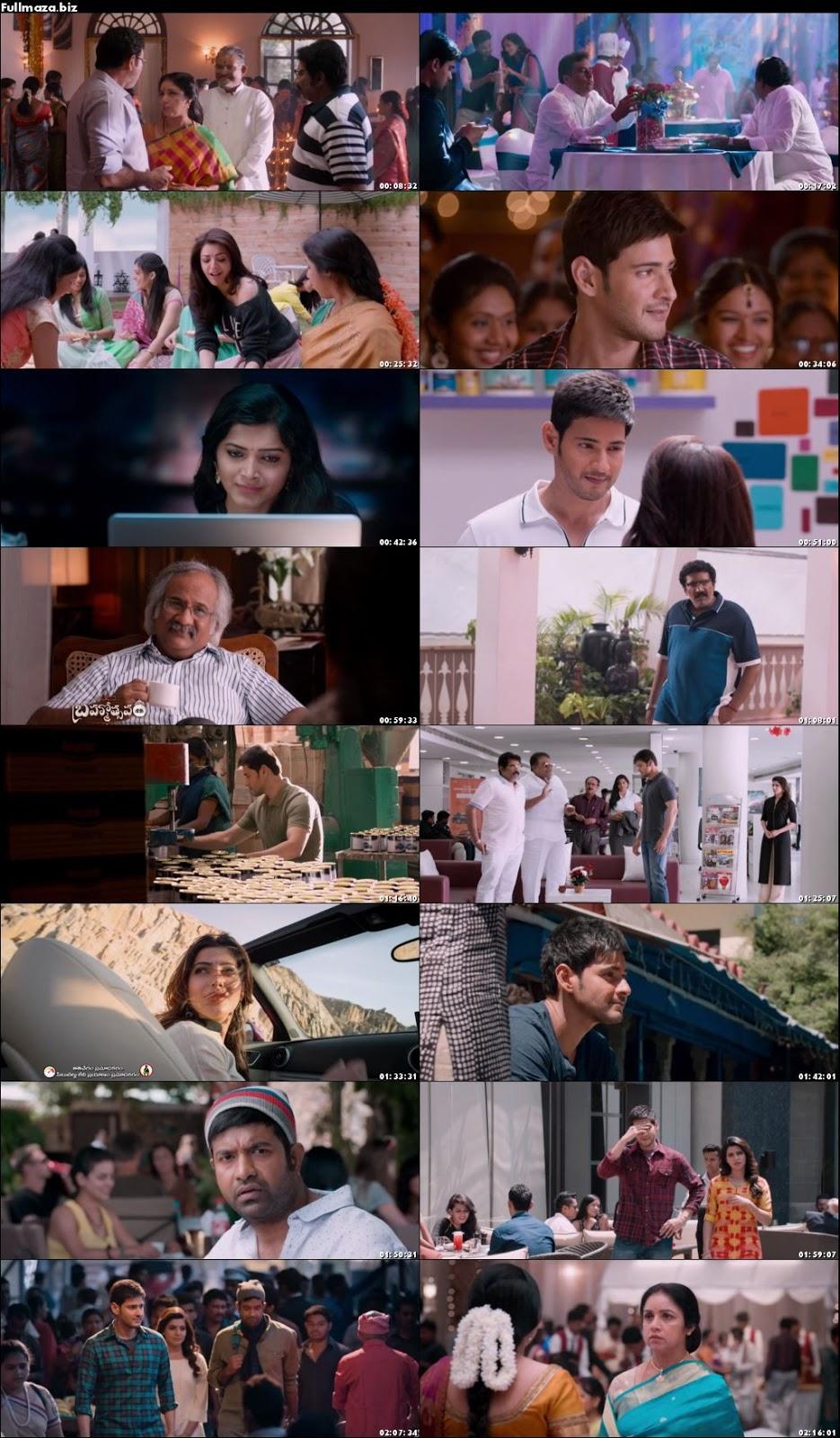 Brahmotsavam Hindi Dubbed Movie Download 480P - ▷ ▷ PowerMall