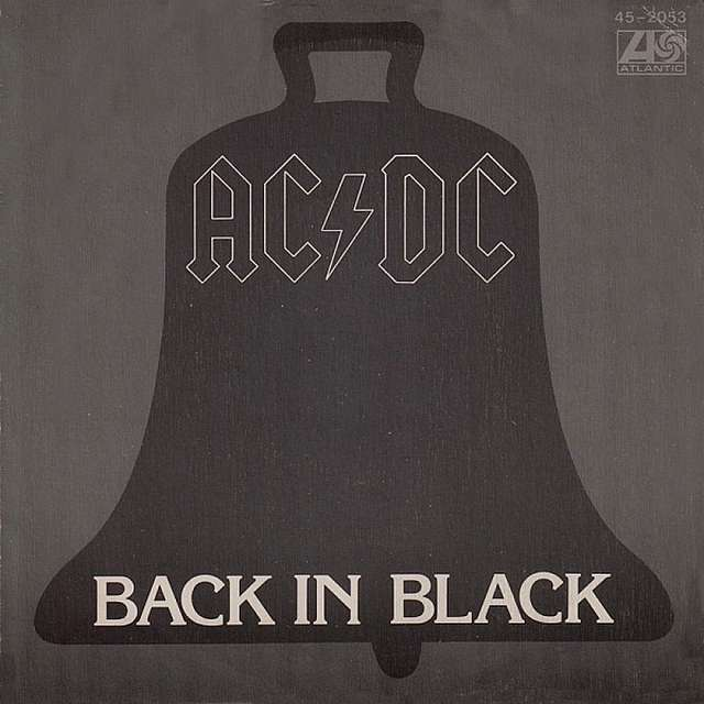 Back in black. AC/DC