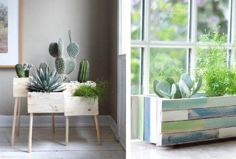 Indoor Flower Boxes DIY