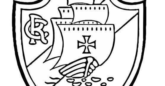 Blog De Geografia Escudo Do Vasco Da Gama Desenho Para Imprimir