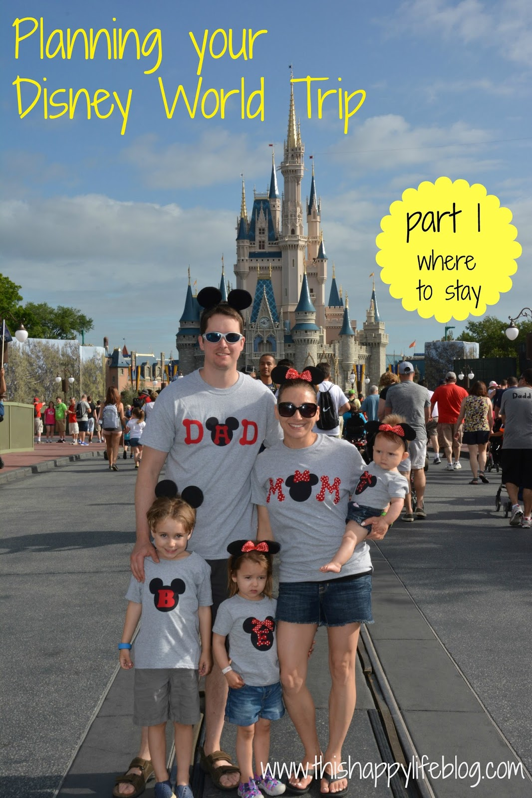 This Happy Life: Planning Your Disney World Trip