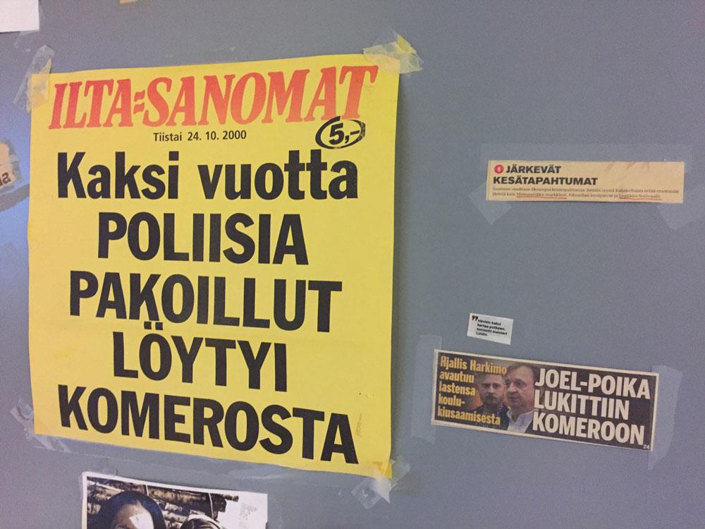 Ilta-Sanomat: Kaksi vuotta poliisia pakoillut löytyi Komerosta