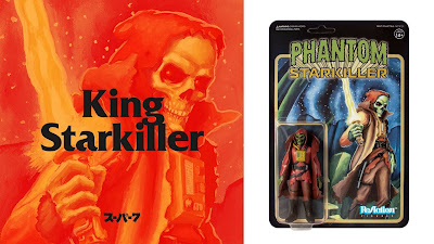 Maroon Horned King Phantom Starkiller ReAction Figure by Killer Bootlegs x Super7