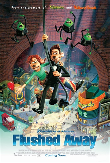 Flushed Away 2006 Dual Audio Hindi Movie Download