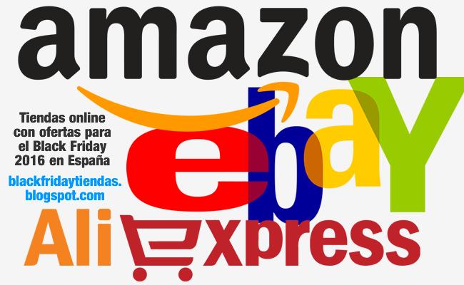 Tiendas online con ofertas para el Black Friday 2016 en España