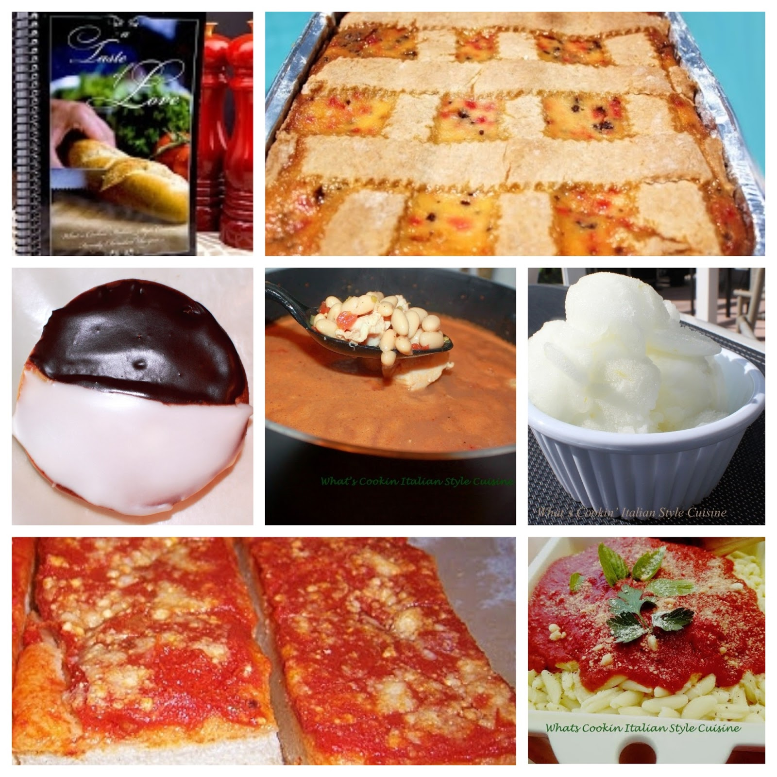 cookbook collage photo Utica New York Inspired  Recipes