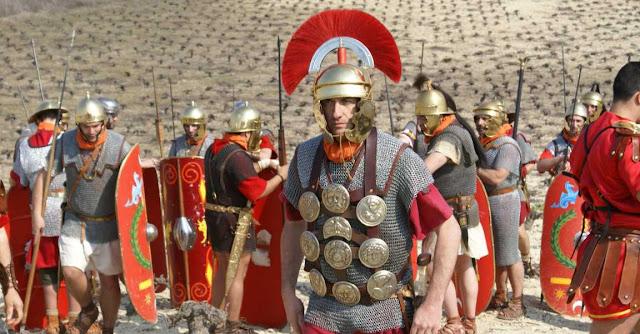 Centurion romano e Imperio romano