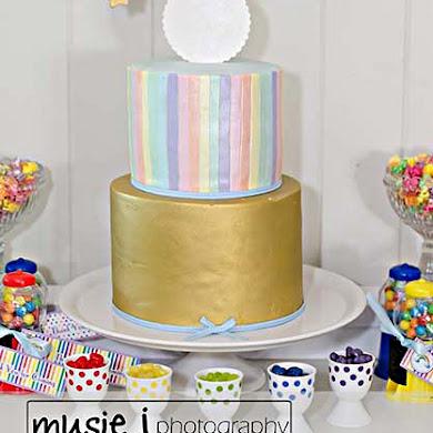 An Elegant Adult Rainbow Birthday Party