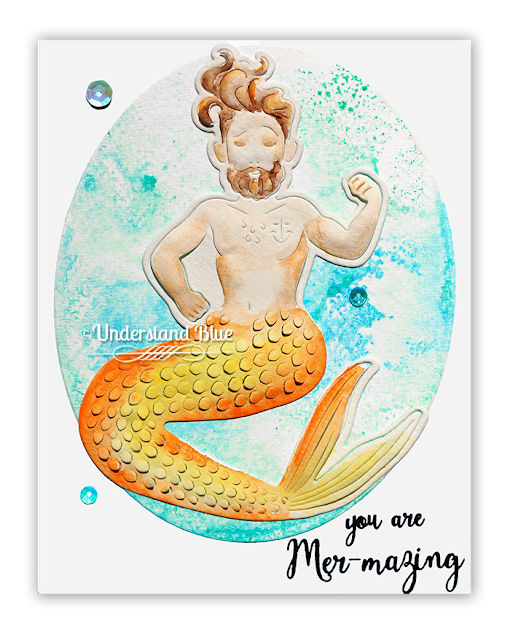 Paper Layering Merman by Understand Blue