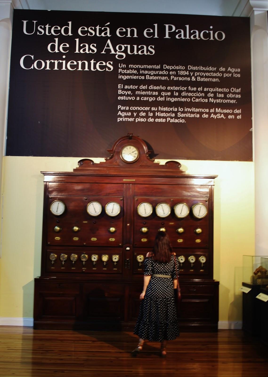 PALACIO DE AGUAS CORRIENTES INTERIOR