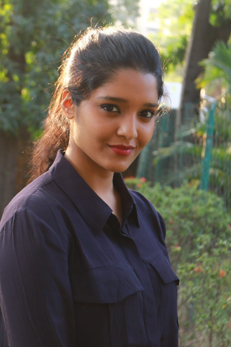 Mixed Marial arts become actress Ritika singh's Simple Photoshoot