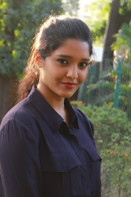 Mixed Marial arts become actress Ritika singh's Simple Photoshoot