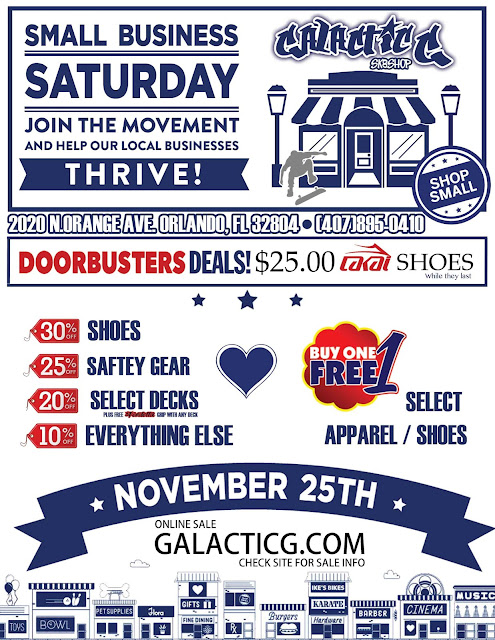 Small Business Saturday Orlando Sale