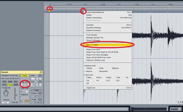how to warp, ableton, warping, Ableton dj warping