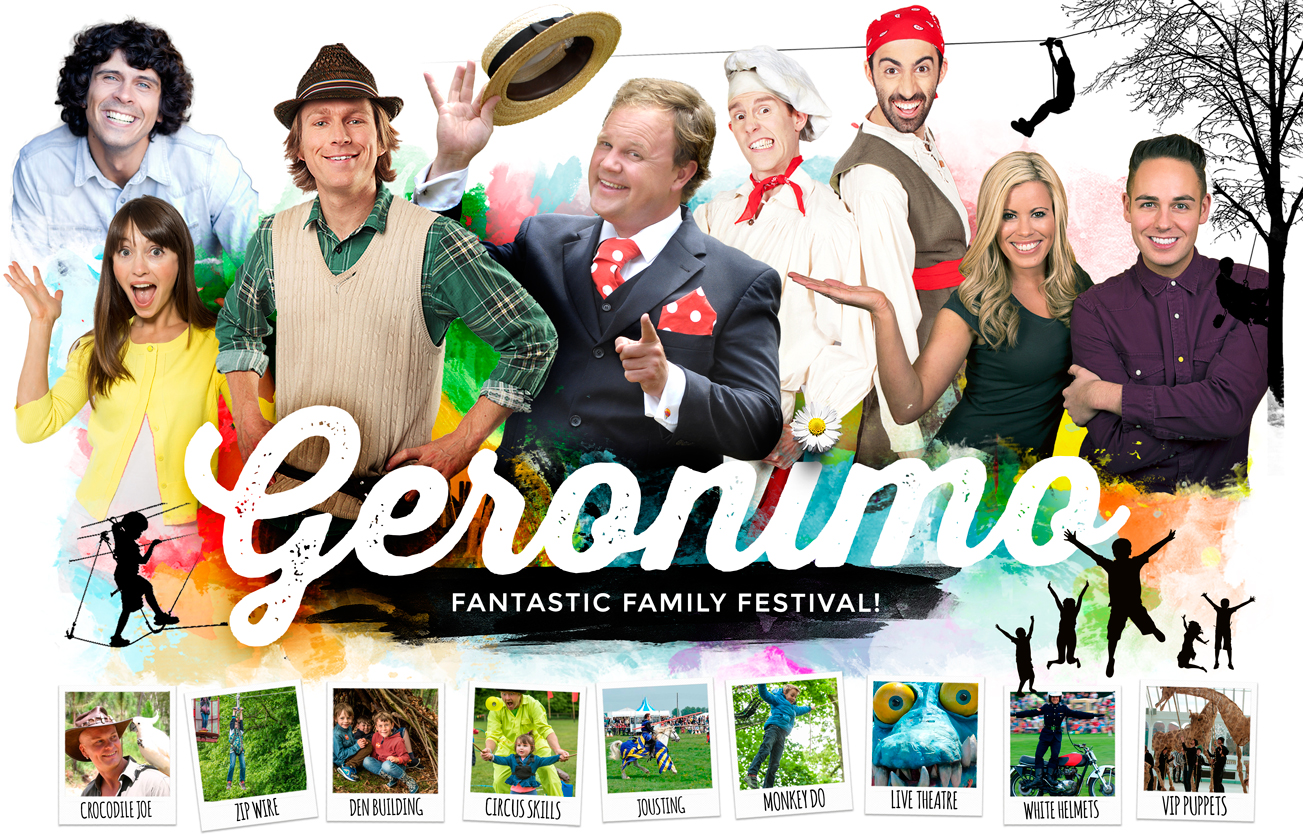 Geronimo Festival, May bank holiday 2016, family day out