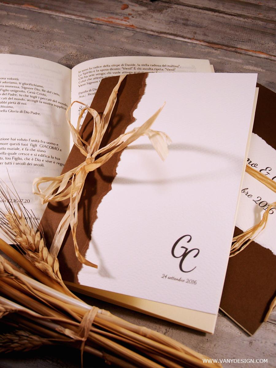 Libretto Messa Matrimonio Country Chic : Libretto matrimonio fai da te hd pineglen