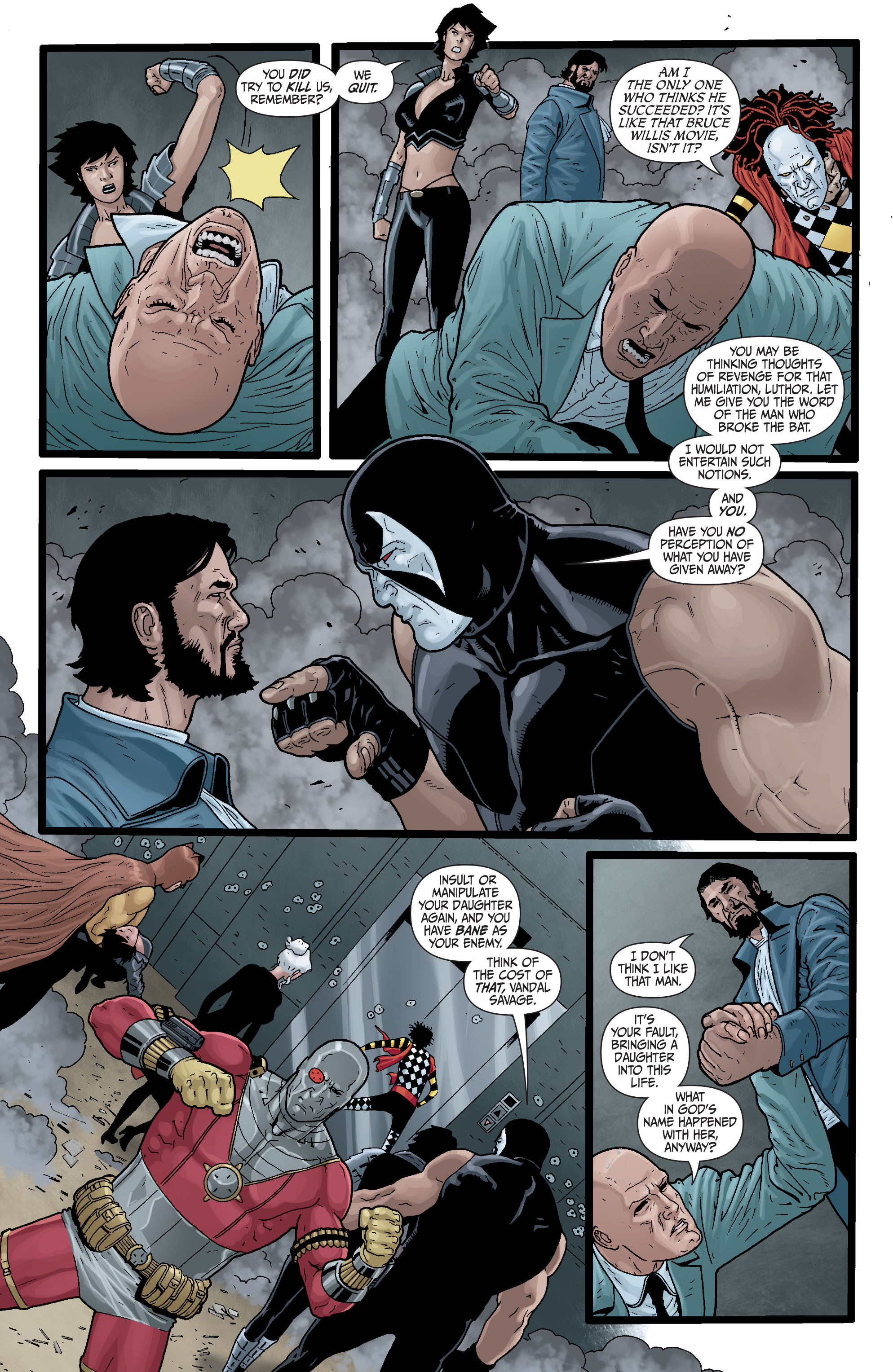 Read online Secret Six (2008) comic -  Issue #29 - 19