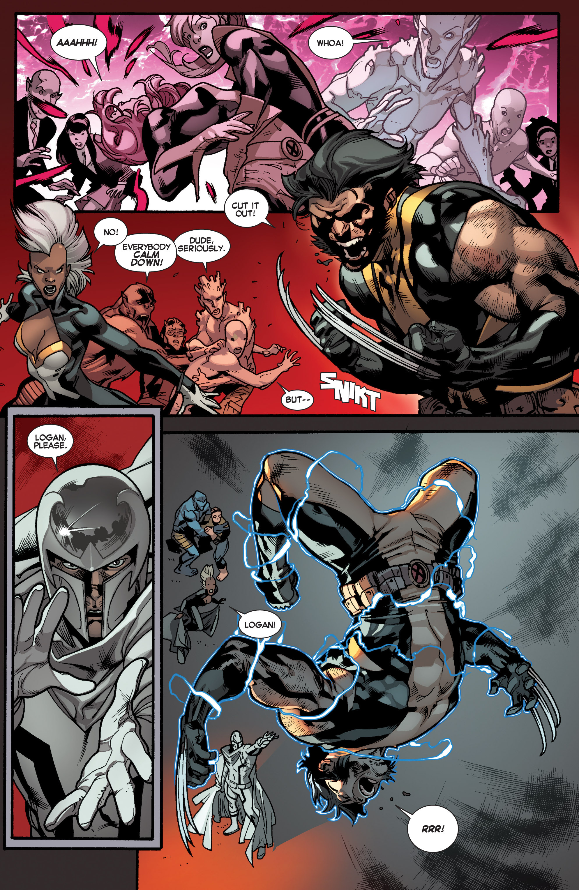 Read online All-New X-Men (2013) comic -  Issue # _Special - Out Of Their Depth - 10