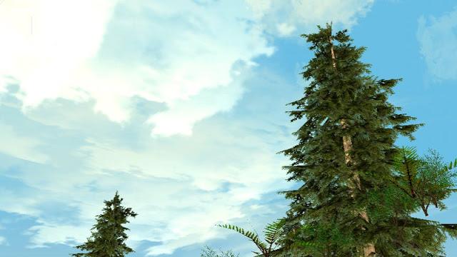Calm Clouds v1 New HD Clouds GTA SA Mobile Andreas Arfantya HD wallpapers gtaam