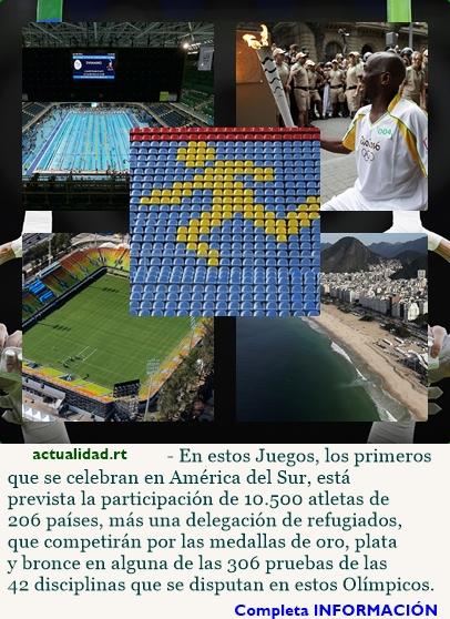 Todo lo que debes saber sobre los JJ.OO. de Río de Janeiro