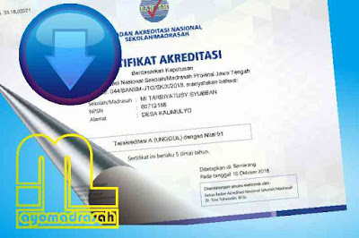 Download Sertifikat Akreditasi