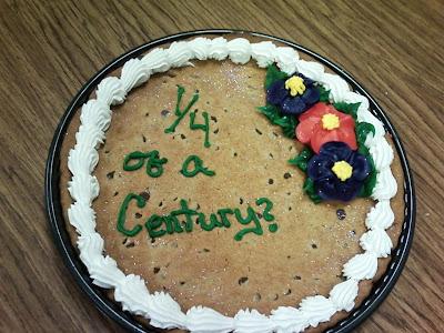 Calculus Birthday Cake