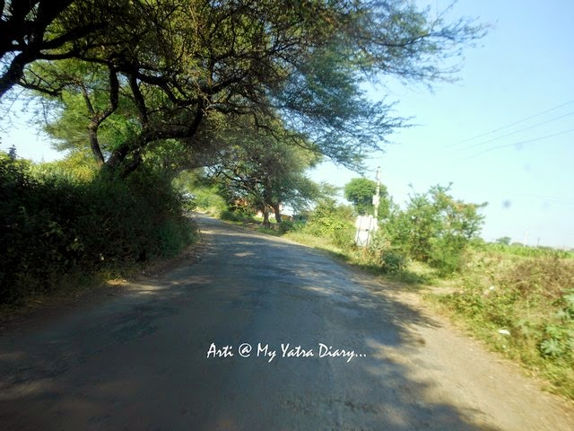The winding road of the Pune-Saswad Dive Ghat Highway
