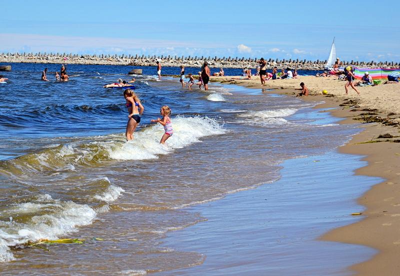 kapiel w morzu, baltyk, fale morskie, plaza, ranking plaz, wybierz plaze, najpiekniejsza plaza, zycie od kuchni