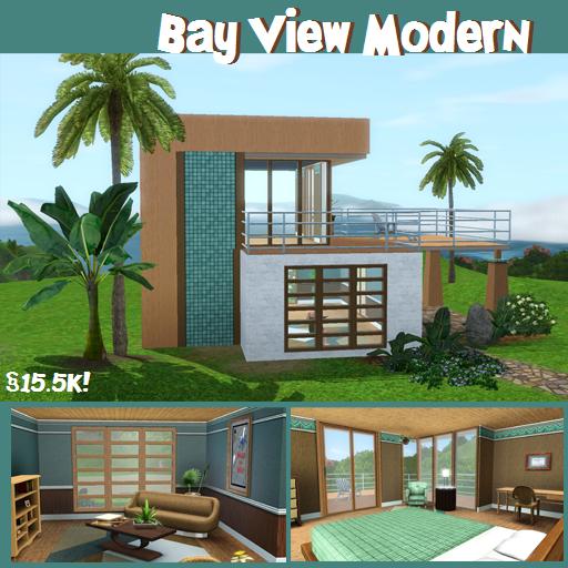 plan petite maison moderne. Black Bedroom Furniture Sets. Home Design Ideas