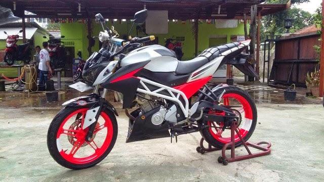 Modifikasi Motor Yamaha Vixion StreetFighter