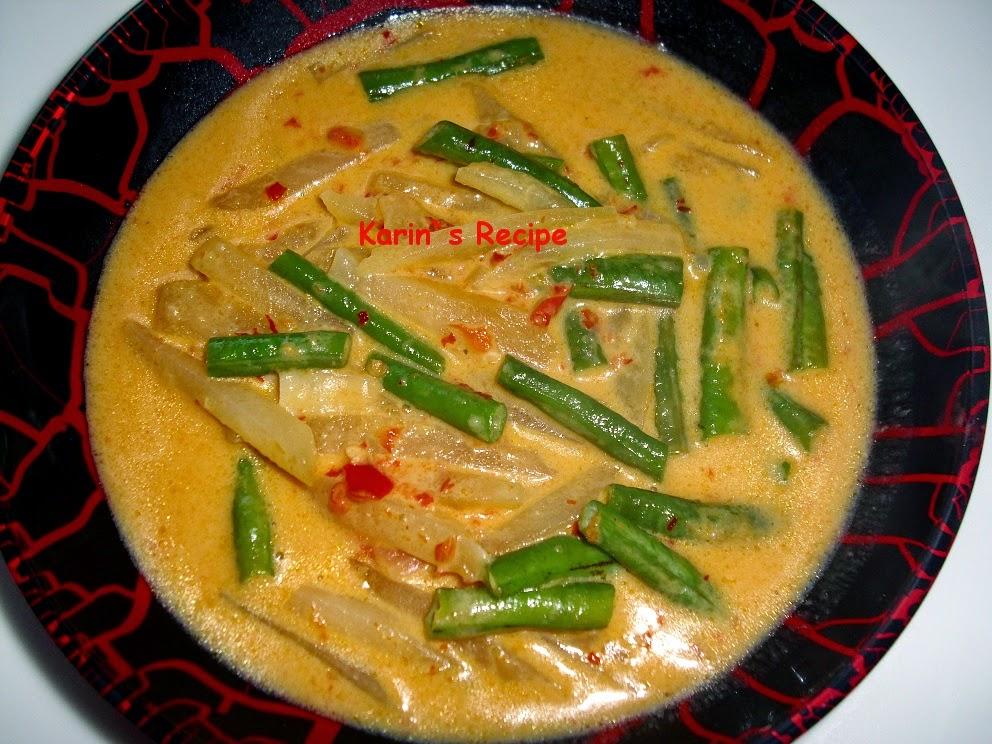 Resep Masakan Labu Siam Santan Sederhana
